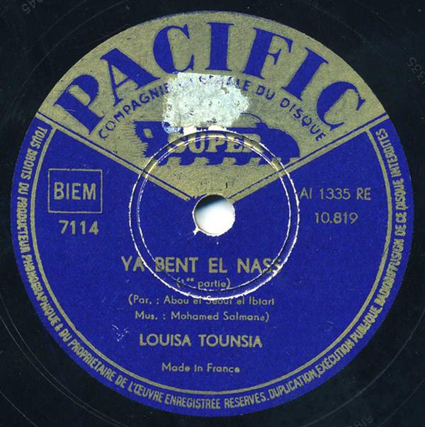 Louisa Tounsia – Ya Bent El Nass