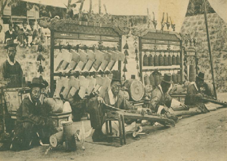Fig 02 - Jangakwon Musicians performing, Circa 1905